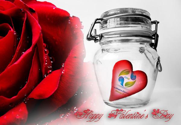 FDW wenst je een mooie Valentijnsdag